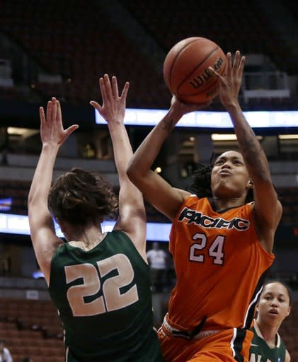 Cal Poly women top Pacific 63-49, win Big West