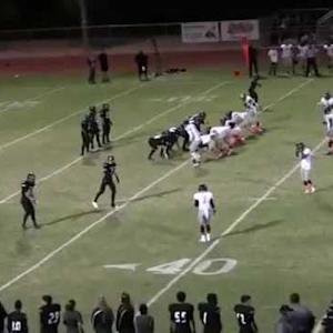 Alex Aguirre's Highlights vs. Youngker Hs