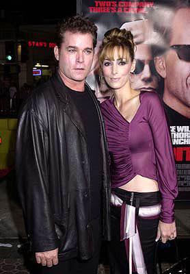 Ray Liotta and wife Michelle Grace at the Westwood premiere of MGM's Bandits