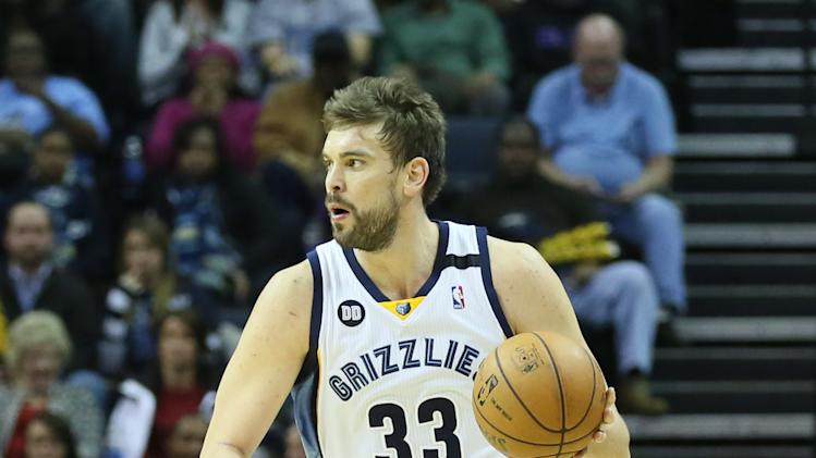 NBA: Portland Trail Blazers at Memphis Grizzlies