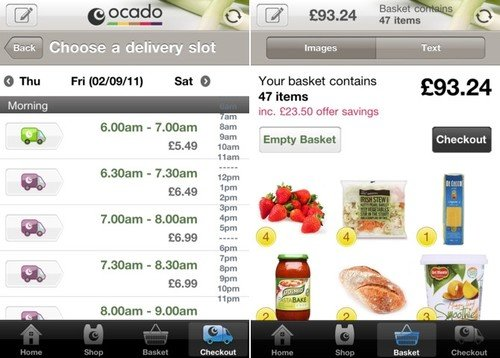 Ocado app iphone