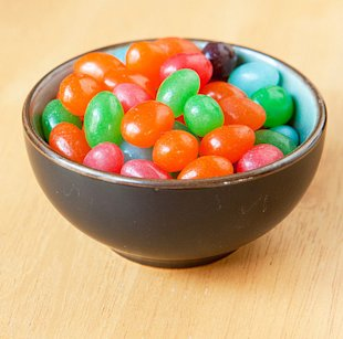 Are jelly beans a choking hazard?