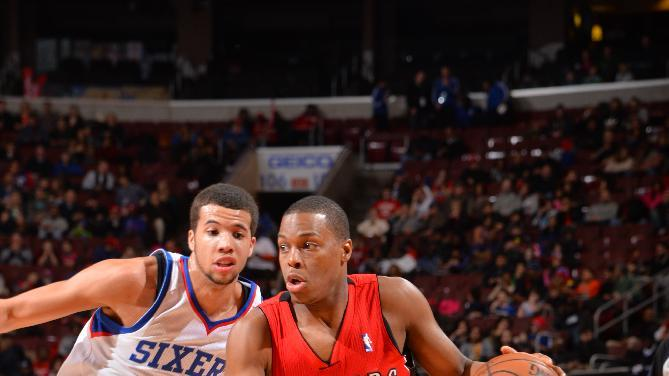 Lowry has triple-double, Raptors top 76ers 104-95