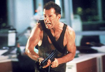 Bruce Willis as John McClane in 20th Century Fox's Die Hard