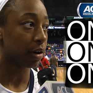Notre Dame's Jewell Loyd Talks About Advancing to ACC Championship | ACC One-On-One