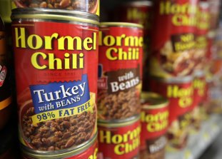 Hormel chili products: Credit AP