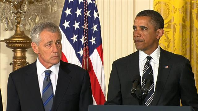 Hagel faces tough criticism in Senate