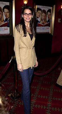 Angie Harmon at the New York premiere of Miramax's Bridget Jones's Diary