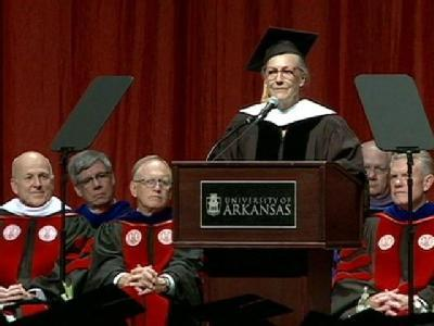 A Famous Arkansan Receives Honorary Degree