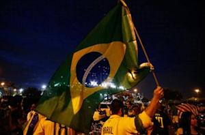 In Pictures: Brazil thrashes Honduras