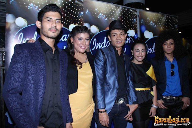 5 besar Indonesian Idol