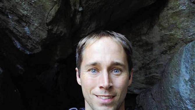 In this undated photo released by Tiffany Minto, Matthew Greene is shown. Greene a math teacher at Nazareth Area High School in eastern Pennsylvania, vanished while on a backpacking trip in California in July of 2013. (AP Photo/Courtesy of Family)
