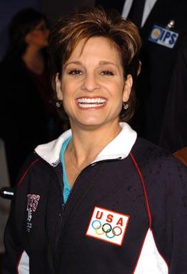 Mary Lou Retton at the LA premiere of Disney's Miracle