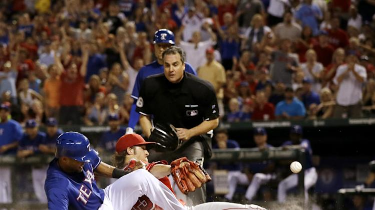 Rangers win 5-3 over Angels, still in playoff hunt