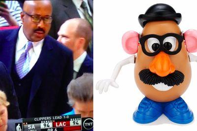 Mike Woodson now looks more like Mr. Potato Head than ever before