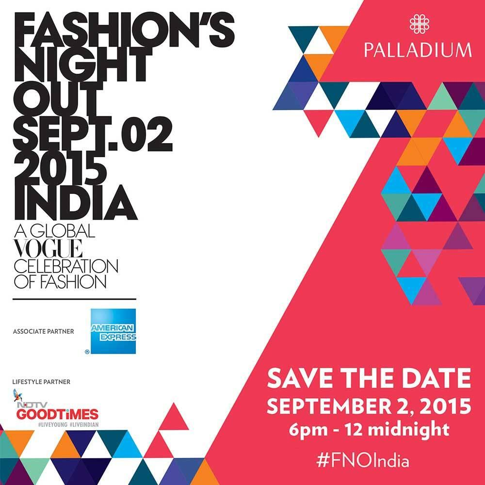 Celebrate shopping with Fashion's Night Out by Vogue