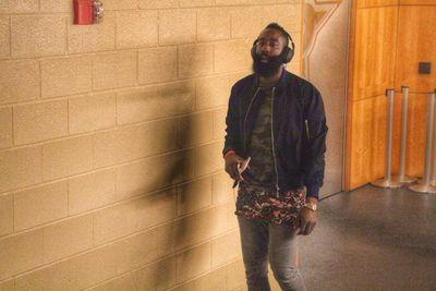 What the heck is James Harden wearing?