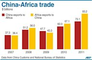 &lt;p&gt;Graphic charting China and Africa&#39;s trade balance, 2007-2011. President Hu Jintao on Thursday said China would offer $20 billion in new loans to Africa.&lt;/p&gt;
