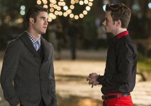 Glee Exclusive: Chris Colfer Gifts Us With Scoop on Klaine's Christmas Reunion