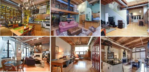 Curbed Comparisons: 10 Timber Lofts You Can Buy Right Now for $425K or Less