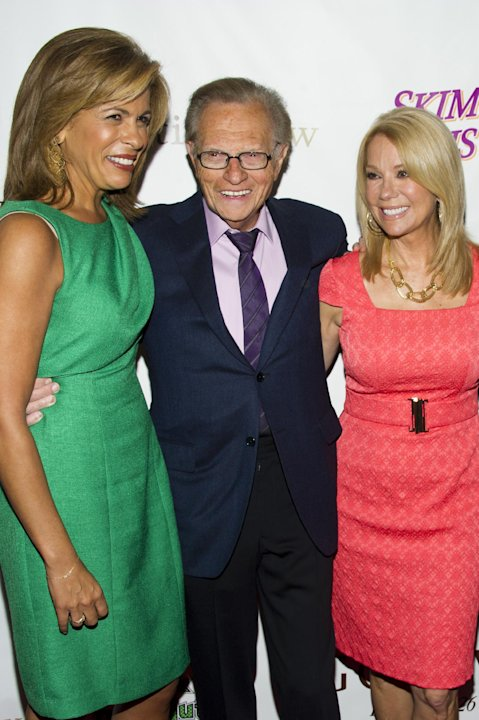 Hoda Kotb, left, Larry King&nbsp;&hellip;