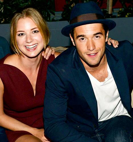 Emily VanCamp and Josh Bowman's Date Night in L.A