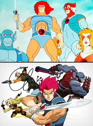 Thundercats Episodes on Thundercats  Old  Top  And New  Everett Collection  Wb Animation