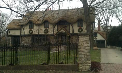 Chicago's Oversized Hobbit House Is One for the Storybooks