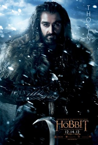 Richard Armitage plays Thorin &#39;The Hobbit: An Unexpected Journey&#39;  -- MGM