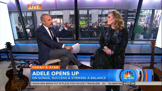 Matt Lauer's Offensive Question to Adele