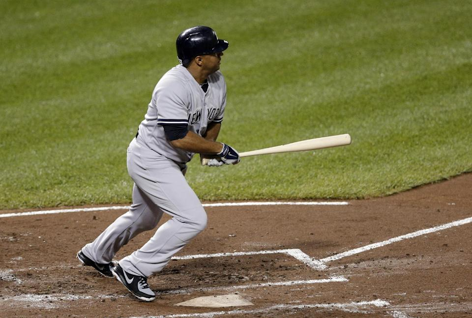 Yankees hit 2 HRs in 6-5 win over sinking Orioles
