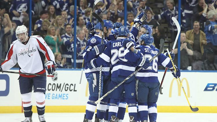 NHL: Washington Capitals at Tampa Bay Lightning