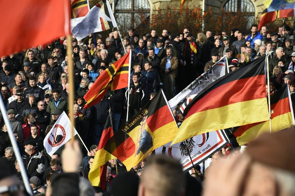 Thousands march across Europe in anti-Islam Pegida rallies