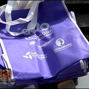 Baltimore City Communities Show Support For Reusable Bag Bill