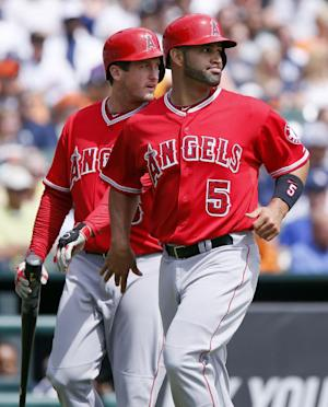 Angels make 3 errors on 1 play against Tigers