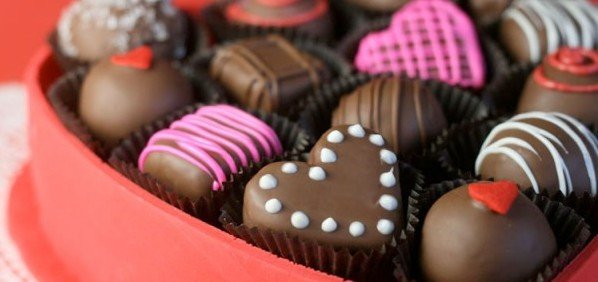 cokelat valentine day