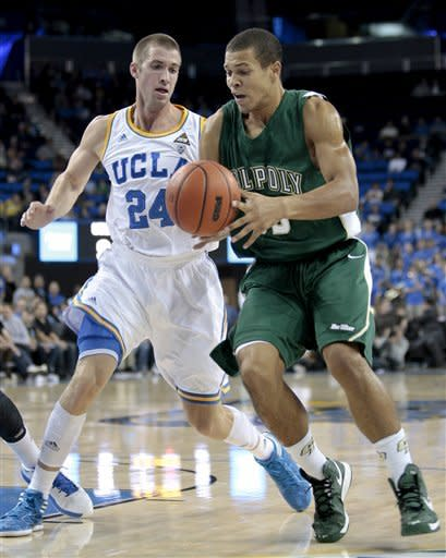 Cal Poly slips past No. 11 UCLA 70-68