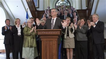 Jean-Marc Fournier became the interim leader of the Quebec Liberal Party.