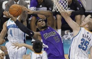 Cousins leads Kings back against Hornets, 100-92