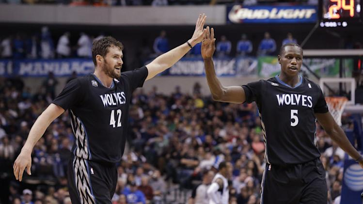 Kevin Love scores late OT winner to put Wolves over Mavericks (…