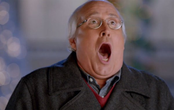 Christmas Vacation Cast Reunite For Old Navy Commercial Omg Tv Yahoo Celebrity Ca