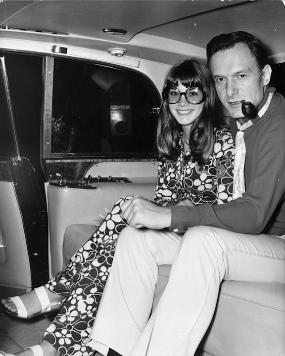 Hugh Hefner, Barbara Bent …