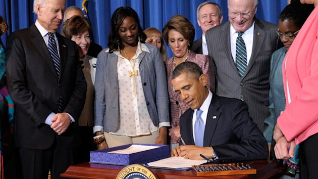 Obama Signs Violence Against Women Reauthorization Act (ABC News)
