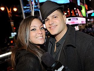 Sammi Giancola and Ronnie Ortiz-Magro. Photo: Scott Gries/PictureGroup