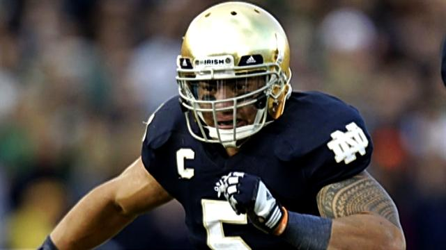 Manti Te'o: Playing through tremendous adversity
