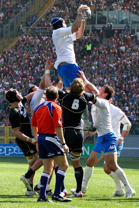 The RBS 6 Nations rugby match between Italy and Scotland at the Stadio Olimpico. Scotland�s RBS 6 Nations frustrations continued on Saturday as they fell to a 13-6 defeat to Italy. Rome, Italy - 17.03