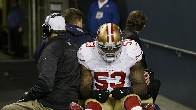 AP source: 49ers' Bowman has torn ACL, MCL in knee