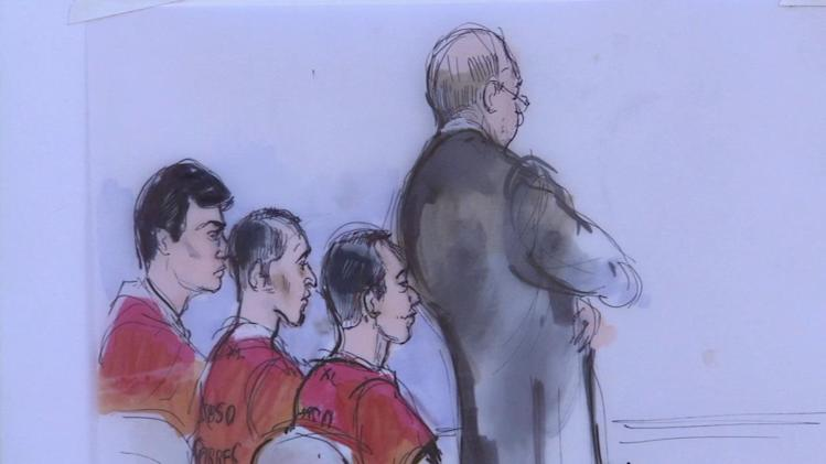 3 accused terrorists plead not guilty in Riverside