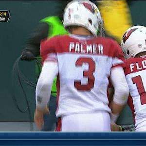 Arizona Cardinals wide receiver Michael Floyd 23-yard TD reception