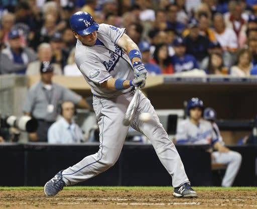 Dodgers beat Padres 8-4, inch closer to Cardinals